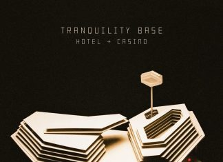 Arctic Monkeys rock tranquility base hotel casino cover album chronique